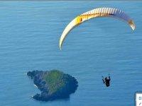 In volo con il parapendio