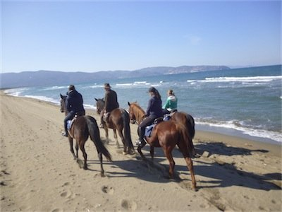 Trekking Argentario 2 giorni a cavallo