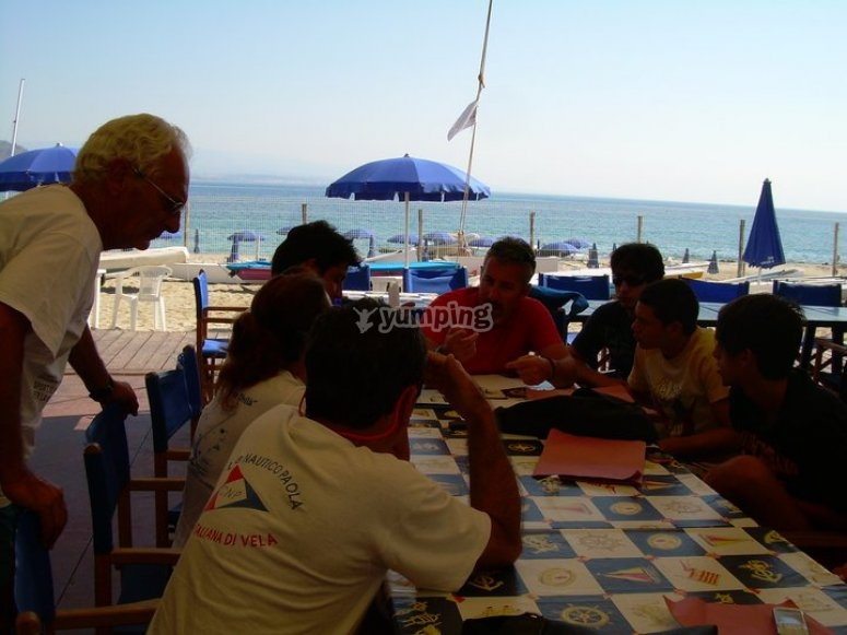 Summer with the sailing course