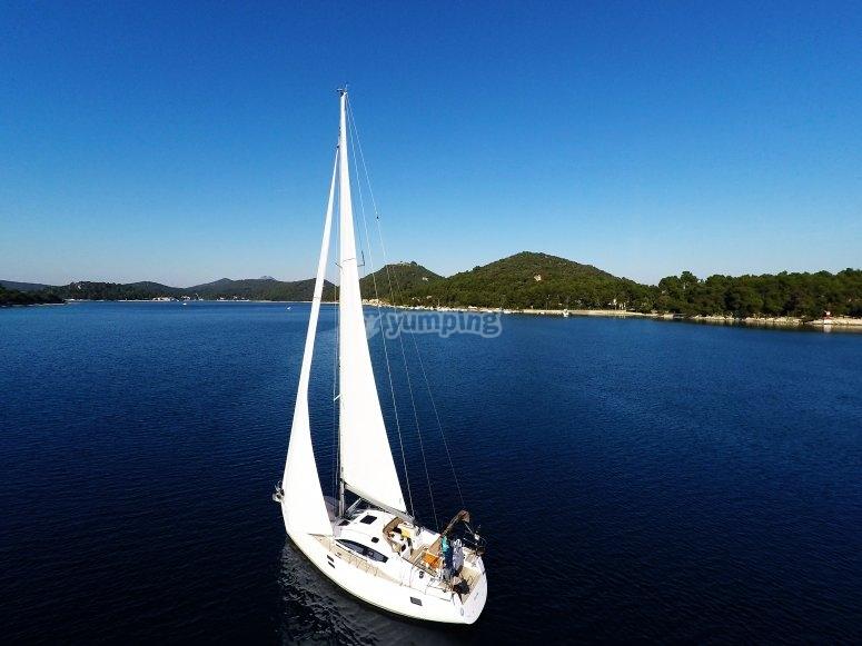 sailing in Calabria