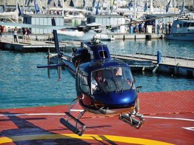 Fox Jet airlines Volo Elicottero