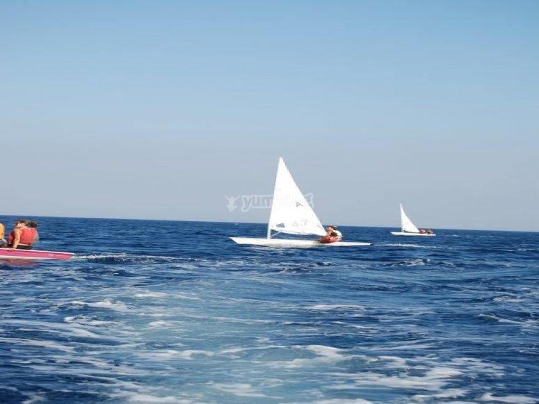 Avvicinamento alla vela