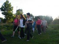 Nordic walking per un giorno intero