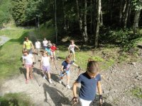 Nordic walking per bambini