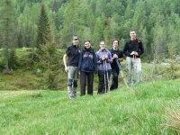 Un gruppo di escursionisti