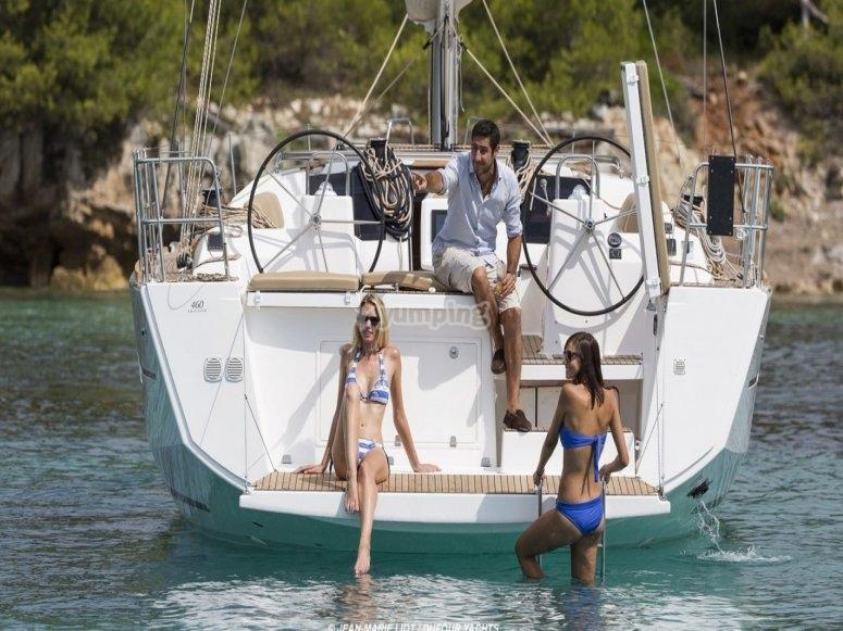 Mezza giornata in barca a vela