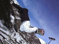 Adrenaline and snowboard