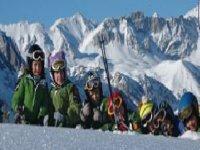 Ski lessons for children