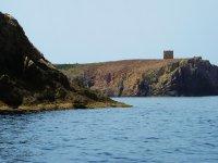 Vista della torre saracena