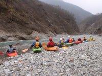Esercitazioni sul fiume