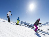 una sciata in compagnia