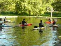 Canoa per stare al contatto con la natura