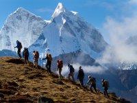 trekking tutti assieme