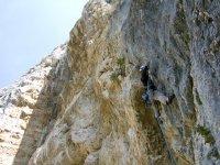 scalando le pareti