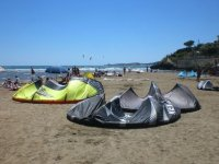Le ali del kitesurf