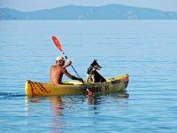 Escursione in canoa nel golfo