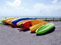 Le canoe sono pronte
