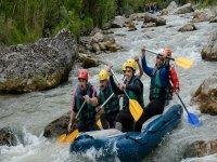 rafting tutti assieme