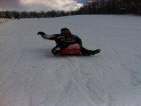Divertimento per tutti sulla neve