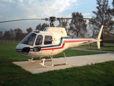 Volo in elicottero di 30 minuti per gruppo Busano