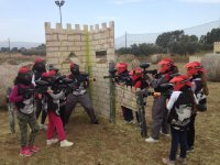 Paintball Partita Base Litorale Roma