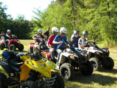 Quad excursion to Sabbio Chiese for 3 hours