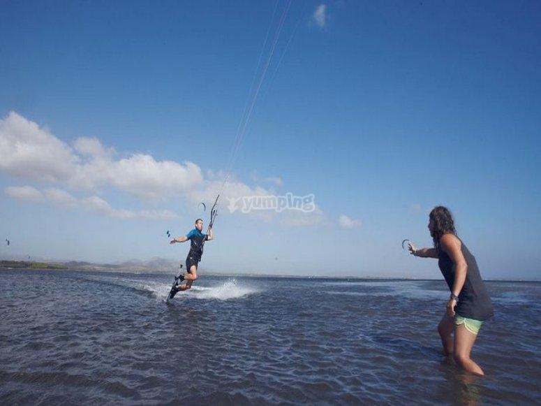 lezioni di prova kitesurf