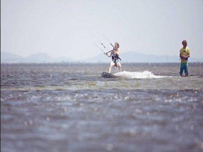 Lezione di prova Kite in Sardegna