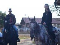 A cavallo in due