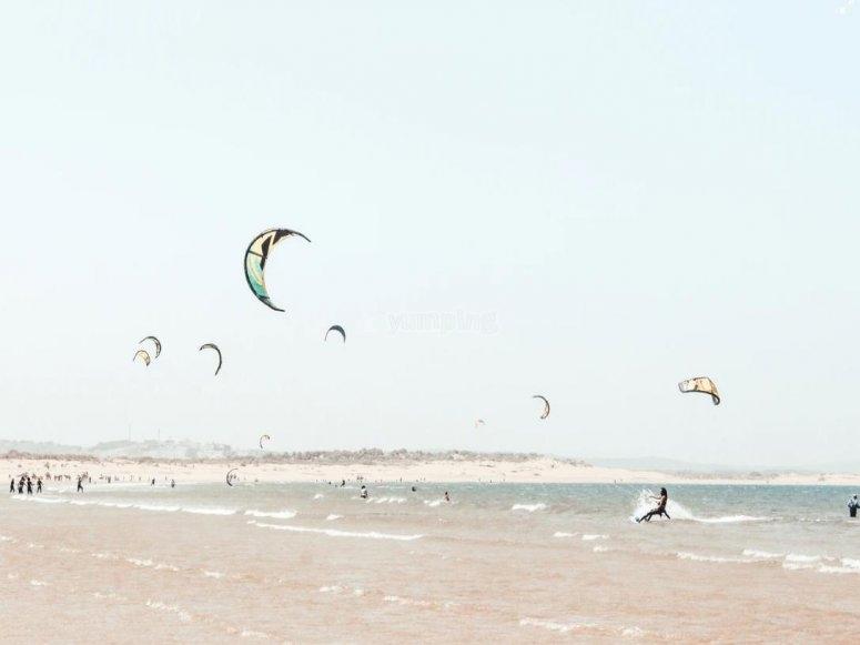 group kite