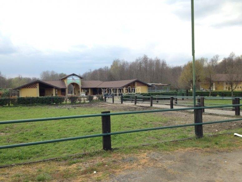 La struttura del ranch