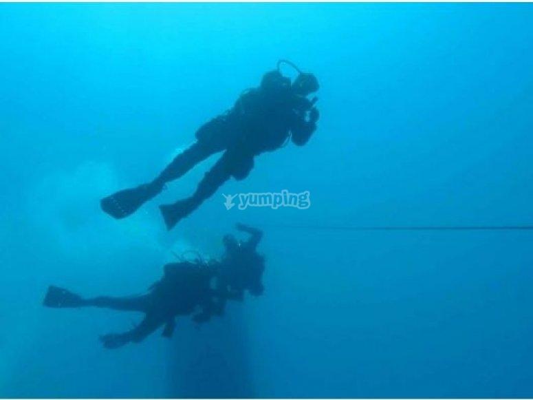 Immersioni a Capo Carbonara