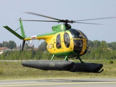 Air Policastro Volo Elicottero