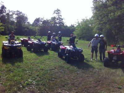 Couple quad tour in Pocapaglia half day