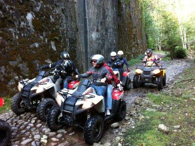 Tour in quad a Pocapaglia di mezza giornata