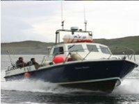 Barca attrezzata per la pesca
