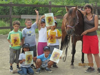 Summer camp on horseback for boys Turin