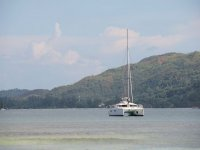 Travel by catamaran