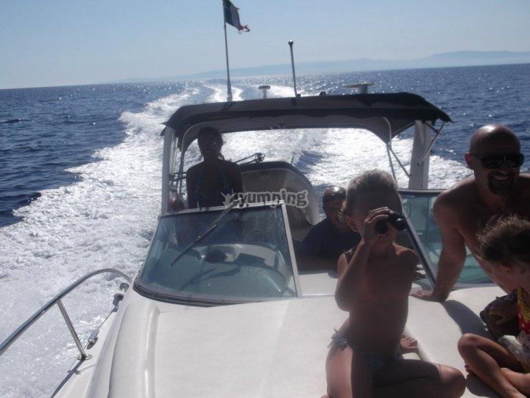 visita le Tremiti in barca