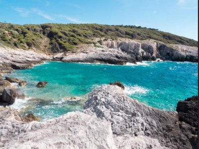 Tremiti islands tour in rubber dinghy 10 hours with lunch