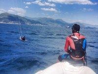 Corso di kitesurf