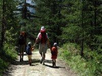 Trekking with i piccoli