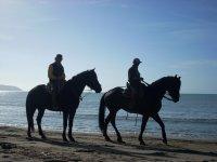 al mare in cavallo è diverso