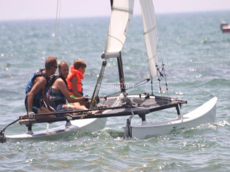 Latin sailing course