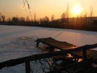 laghetto d inverno