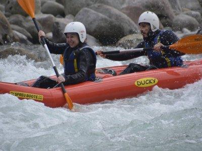 Rafting 10 km Balmuccia-Varallo/ Gole del Sesia