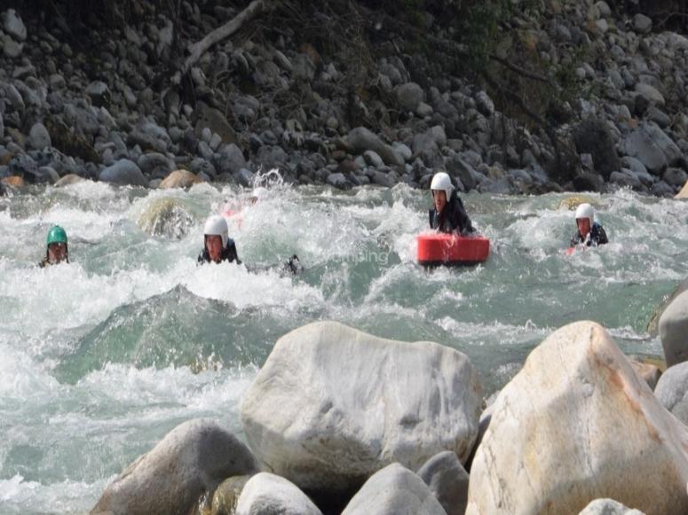 Among the rapids