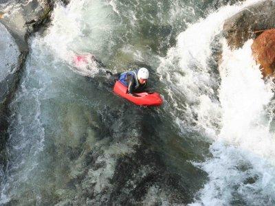 Hydrospeed 3 km fiume Sesia