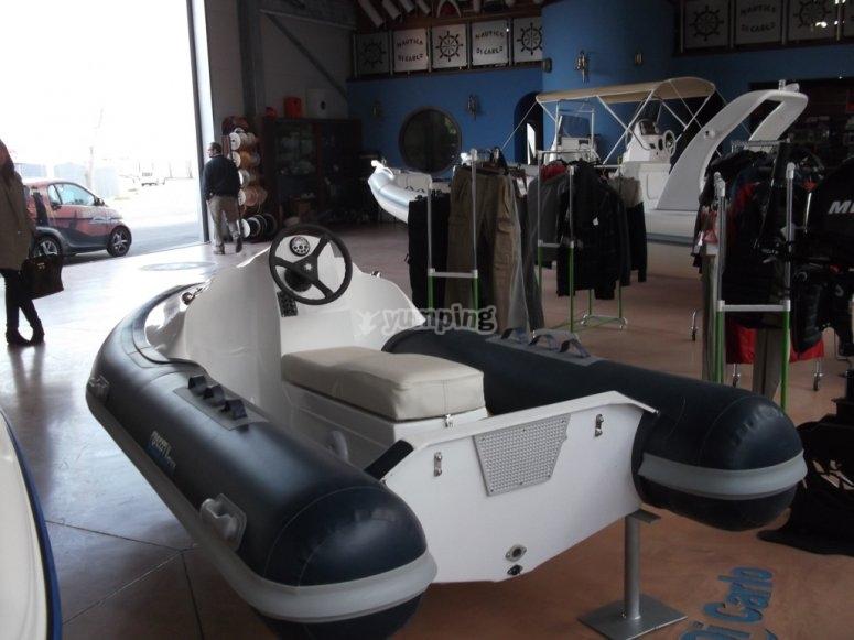 rental of water vehicles