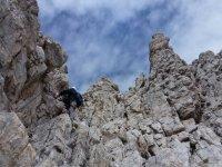 Durante l arrampicata